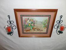 Home Interiors '' God's Handprint'' Picture  Sconces  7 pc Gorgeous