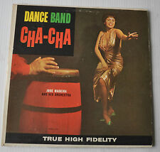 JOSE MADEIRA: Dance Band Cha-Cha LP Record Cheesecake Cover