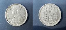 Monaco - Louis II - 10 francs manteau d'armes couronné 1946 - KM.20/123