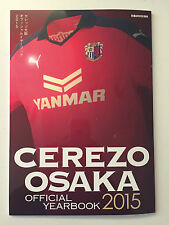 Japan CEREZO OSAKA J.League 2015 YEARBOOK team/squad guide MINT FORLAN Cacau
