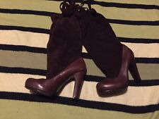 Marc By Marc Jacobs, Women's Brown Knee High Boots.,size 4.5 (37.5),superb condi