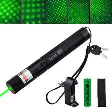 532nm 303 Grün Laserpointer Sichtbarer Lichtstrahl Lazer Extrem Stark Ladegerät