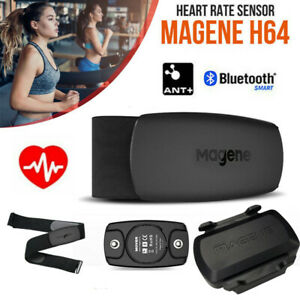 2021 Magene H64/S3 ANT+ Bluetooth 4.0 Heart Rate Sensor Monitor Chest Strap IP67