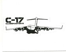 C-17 GLOBEMASTER JET AIRPLANE  Sticker