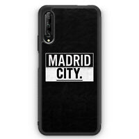 Madrid CITY Silikon Hülle für Huawei P Smart Pro Motiv Design Spanien Espana ...