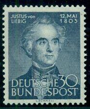 GERMANY #695 30pf dark blue, og, NH, VF, Scott $45.00