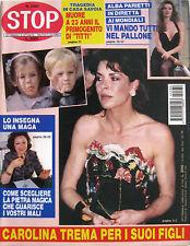 STOP 2380 1994 Carolina Monaco Alba Parietti Heather Locklear Noris De Stefani