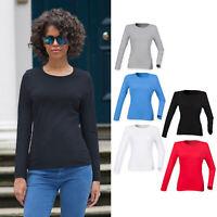 SF Women's Feel Good Long Sleeved Stretch T-Shirt (SK124) - Casual Tee