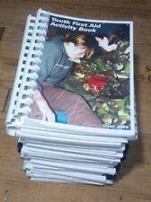 joblot x 25 British first aid book for youth st john ambulance