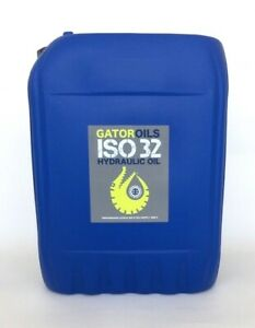 20 litres Gator ISO 32 Hydraulic Oil Virgin Grade DIN 51524 part 1 & 2 fluid