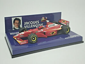 MINICHAMPS 1/43 WILLIAMS FW20 MECACHROME J. Villeneuve Champion 1997 430980001