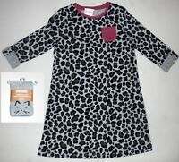 Gymboree Girls Kitty Mouse Dog Leopard Sweater Dress 2T  NWT