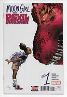 Moon Girl And Devil Dinosaur #1 NM 1st Appearance Lunella Lafayette Disney+ MCU