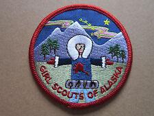 Girl Scouts Of Alaska BSA Cloth Patch Badge Boy Scouts Scouting (L2K)