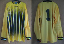 Maillot Uhlsport Jaune Gardien But vintage Goal Vintage Jersey #1 - XL
