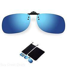 Besgoods Sunglasses Polarized Flip Up Clip On Sunglasses Glasses Sports Driving