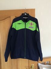 Northern Ireland Home Football Shirt Track top Jacket Size M