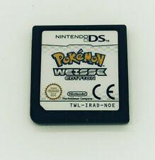 Pokemon Weisse Edition Modul Sehr gut Nintendo DS ohne OVP und Beschreibung DE