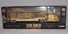 1999 1:62 SCALE Square D TRANSPORTER WITH STOCK CAR 24K GOLD Plated Issue #11G