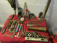 Large Lot of Vintage Barn Garage Estate Tools Pliers Cutters Plane Tools Shop