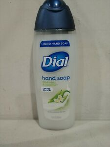 Lot Of 12 New Dial Limited Edition Aloe Vera & Jasmine  Liquid Hand Soaps 8.5OZ