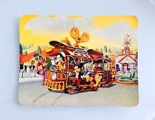 Disney Ephemera DLR Disneyland Mickeys Toon Jolly Trolley Jumbo Postkarte