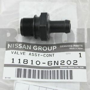 GENUINE NISSAN ALTIMA FRONTIER SENTRA PATHFINDER QX56 QX80 PCV VALVE 11810-6N202