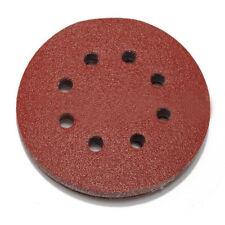 50pcs 125mm orbital sander sandpaper discs 40,60,80,100,120g grit sanding n Q1X0