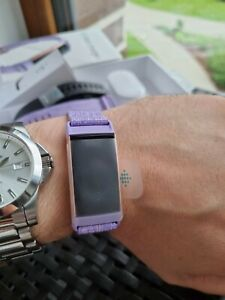Fitbit Charge 3 Fitness Activity Tracker, Size L - Lavender purple