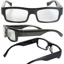 VIDEO GLASSES FULL HD 1080p CAMERA RECORDER INVISIBLE LENS 5MP CAMERA WITH SOUND