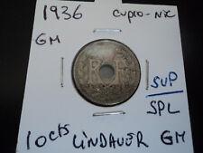 10 cts Lindauer cupro-nickel gm de 1936 (n2)