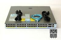 Cisco WS-C4948E-F-E 48 Port GE Switch with 4x10GbE(SFP+) 2x PWR-C49E-300AC-F