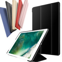"""For New iPad Pro 10.5"""" 2017 Smart Leather Rugged Rubber Shockproof Case Cover"""