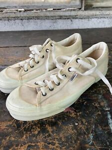 Vintage Mens 1970's 80's Vans Made In Usa Low top Skate Shoes Sneakers classic