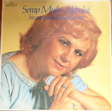 turkey turkish 1970's LP-SERAP MUTLU AKBULUT- bir peri masah kulaklarina