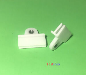 Door Glass Window Track Clips Spiral Edge White For N/S D21 Pickup 1987-1995