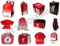 Liverpool FC Backpack Boot Bag Gym Bag Lunch Bag Golf Birthday Christmas Gift