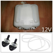 Car 2 Pin Windshield Washer Reservoir Pump Bottle Tank Kit Jet Switch Clean Tool
