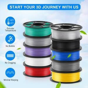 3D Printer Filament PLA / PETG 1.75mm 1 Roll spool Various Colours UK Stock