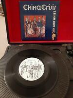"China Crisis – African And White Vinyl 7"" P/S Single INEV 011 Inevitable 1982"