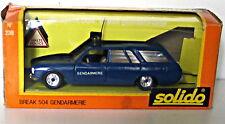 SOLIDO 1/43 504 Gendarmerie Ref:23B