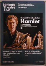 HAMLET ROLLED ORIG 1SH MOVIE POSTER BENEDICT CUMBERBATCH NATIONAL THEATRE LIVE