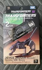 Transformers Takara Device Label RAVAGE Transforming USB 2 GB Flash Memory Stick