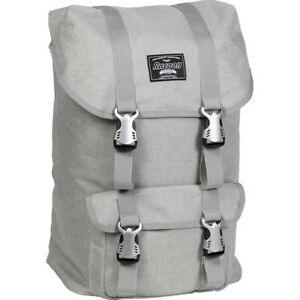 Rucksack City YORK beige Canvas 24 Liter