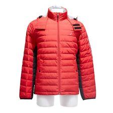 Nautica Men's Color Block Down Jacket X-Small Red/Black JR5313