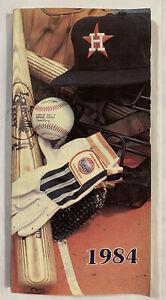 Houston Astros 1984 Media Guide