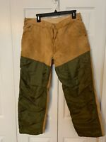 Vintage SafTbaK Heavy Duty Canvas Hunting Field Pants Mens 36x30 Fishing Outdoor