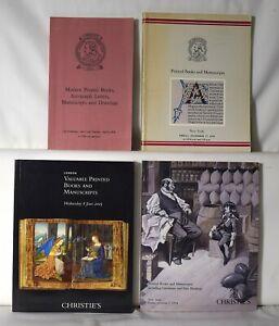 Lot 4 Christies Printed Books and Manuscripts Literature Bindings Catalog 1088