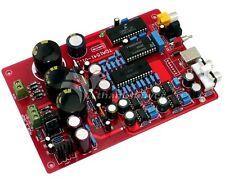 TDA1541+SAA7220+CS8412+NE5534 Fiber Coaxial USB PCM2704 DAC Board AC15-0-15V 10W