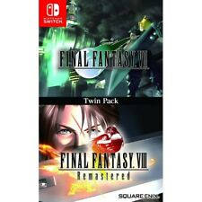 Nintendo Switch Final Fantasy VII & Final Fantasy VIII Remastered Twin Pack NEW